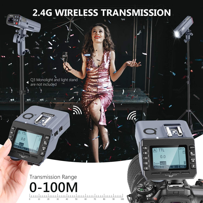 Neewer Q N Ttl Funkblitzauslöser Kompatibel Mit Nikon Kamera