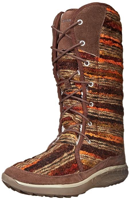 Merrell Pechora Sky - Botines Mujer, Marrón (Schwarz), 42: Amazon.es: Zapatos y complementos