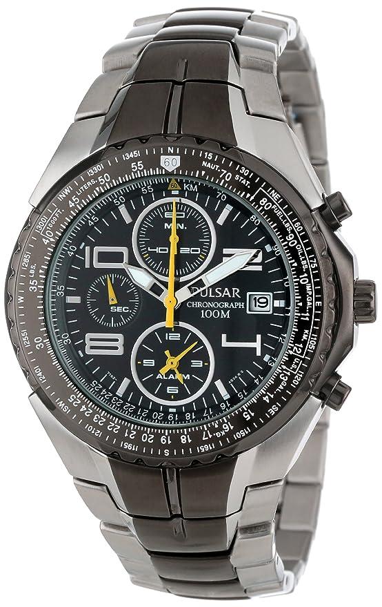 Pulsar Mens Pf3183 Tech Gear Flight Computer Watch Amazon