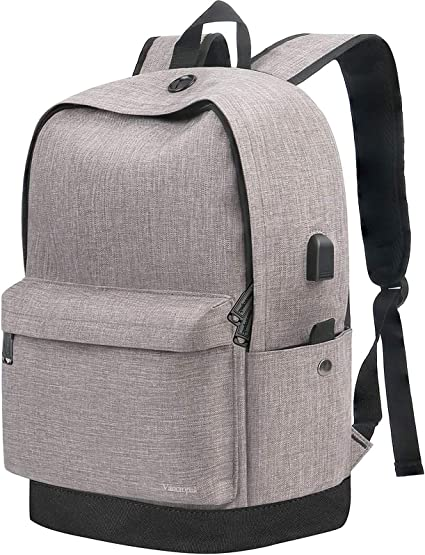 Camping Travel Rucksack Waterproof Sports Outdoor Backpack USB Charging Port  Z1