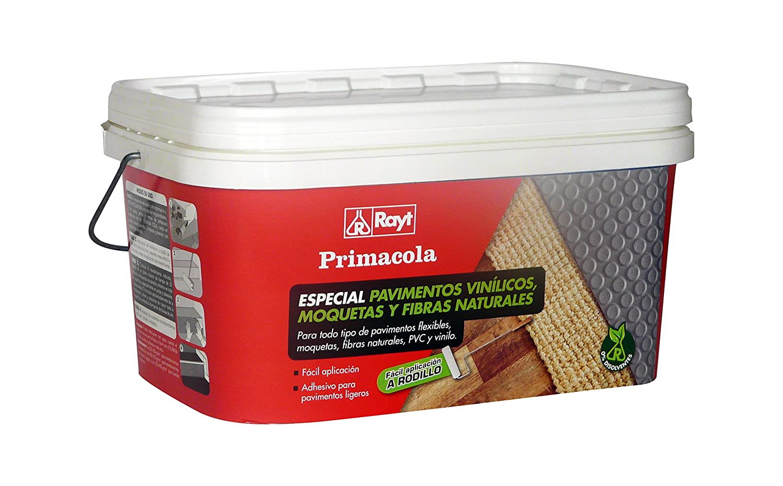 RAYT-PRIMACOLA C-20 - 1273-23 Adhesivo acrí lico unilateral para revestimientos ligeros-aplicació n a rodillo -5 kg Laboratorios Rayt