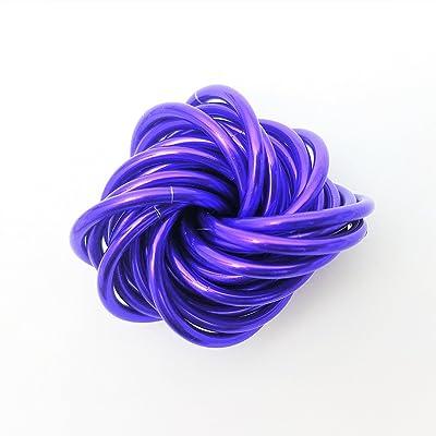 Möbii Ultra Violet, Medium Mobius Fidget Ball Toy, Stress Ball for Restless Hands