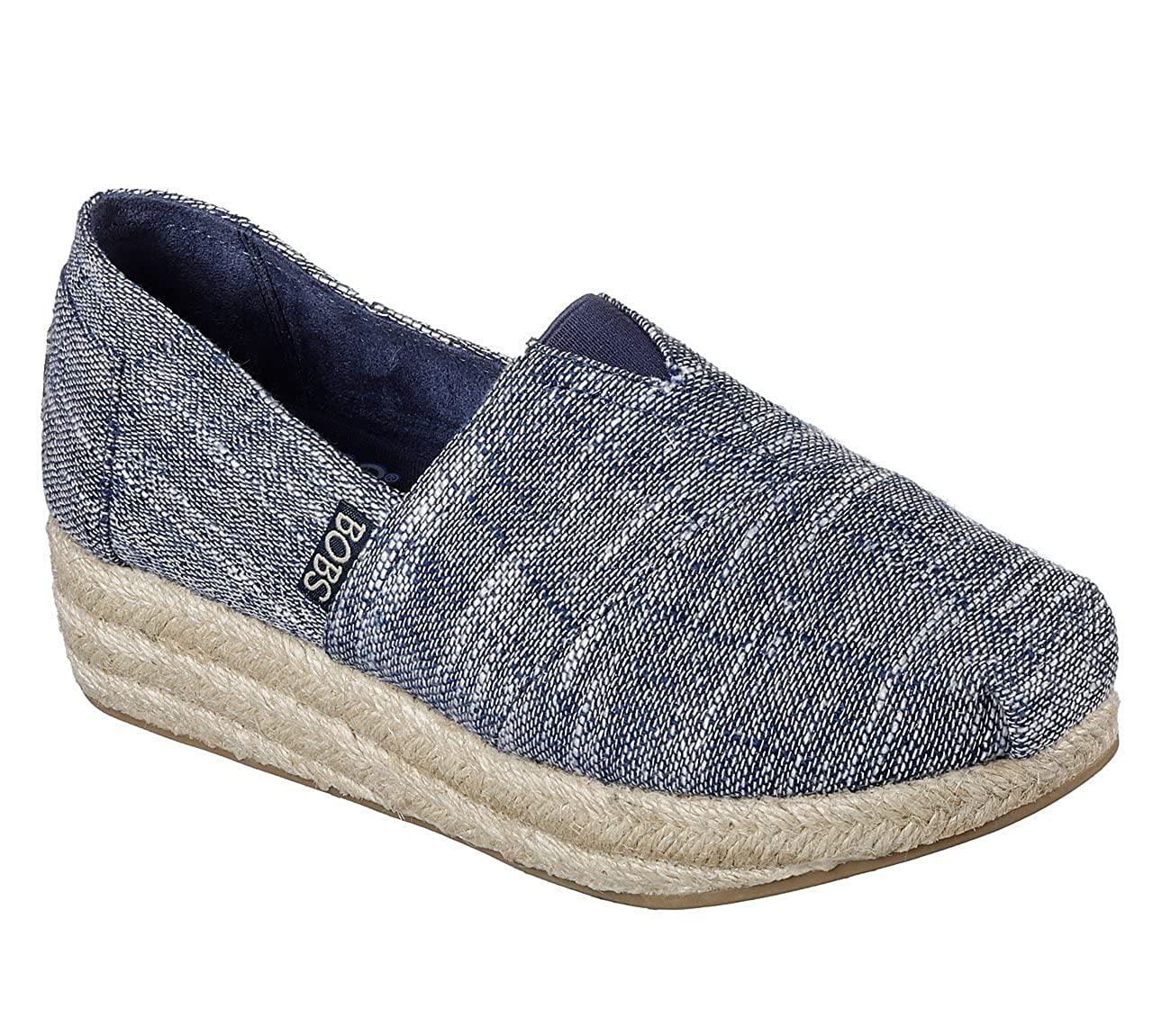 Amazon.com | Skechers Bobs Highlights Sand Sparkle Womens Slip On | Shoes