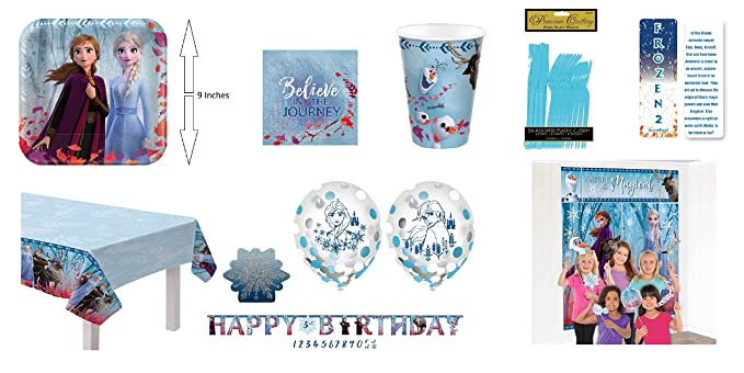 Amazon.com: Frozen 2 Ultimate cumpleaños fiesta de princesa ...