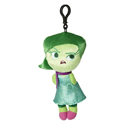 "Zoofy International Inside Out-Disgust 8"" Plush Zippered Clip Doll: Toys & Games"