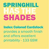 Springhill Colored Paper, Cardstock Paper, Buff