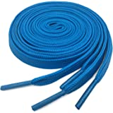 Flat Athletic Shoelaces YJRVFINE Thick Shoe Laces Strings for Sneakers[1 Pair]