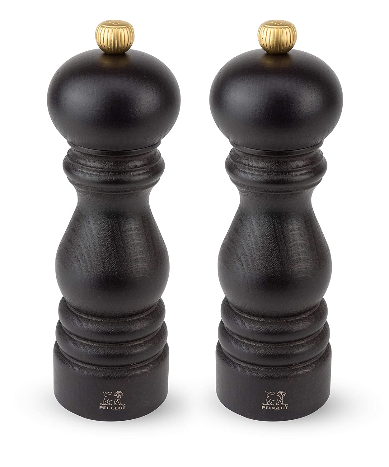 Peugeot 2/23386 Paris u'Select Pepper Mill and Salt Mill Set 7 Inch (Natural)