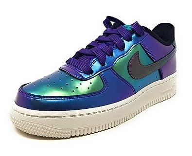 5b5f420fe9 Nike Air Force 1 Lv8 (gs) Big Kids, Court Purple/Rush Pink-neptune Green,  Size 6Y M US