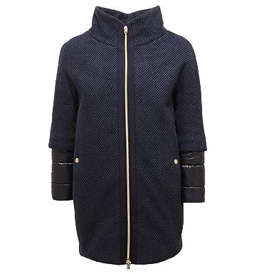 Cappotto Coat Bimba Padded Girl 1505v Imbottito Wool 10 Blue Herno 1xwCFOqW