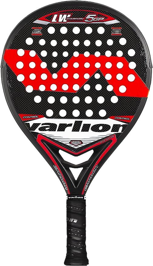 VARLION L.W. Carbon 5 GP - Pala de pádel Unisex, Color Rojo ...
