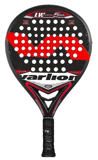 VARLION L.W. Carbon 5 GP - Pala de pádel Unisex, Color Rojo: Amazon.es: Deportes y aire libre