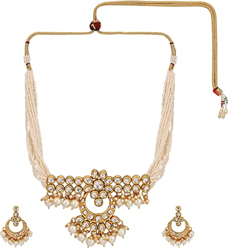 Amazon Com Efulgenz Indian Bollywood Premium Kundan Faux Pearl