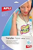 Apli Paper Ref. 4128 B.Papel T-SHIRT Inkjet 10H