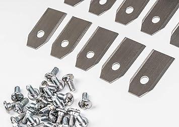 30 cuchillas de repuesto para cortacésped Husquarna, Automower y ...