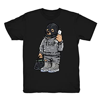 Cool Grey 11 Low Shirt Trap Bear Shirts Match Jordan 11 Cool Grey