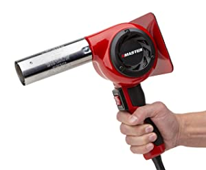 Master Appliance HG-501D Industrial Heat Gun, Quick Change Plug-In Heating Element, 1200° F, 120V, 1740W, 14.5 Amps, Assembled In USA