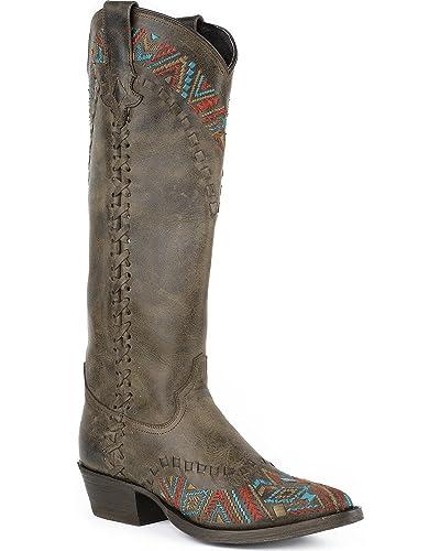 Women's Doli Cowgirl Boot Snip Toe - 12-021-6106-0717 BR