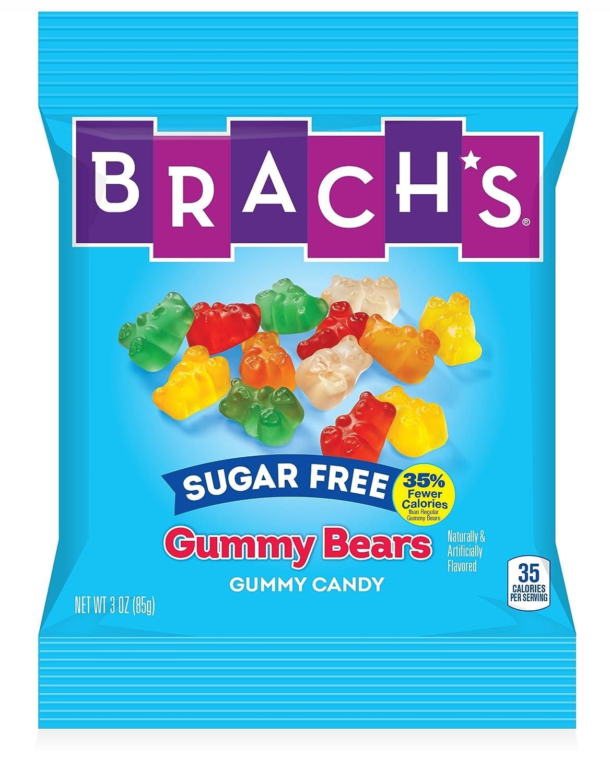 Brach's Sugar Free Gummy Bears, 3 Ounces