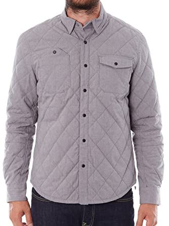 Amazon Alpinestars Mens Quilted Button Down Triton Shirt Clothing
