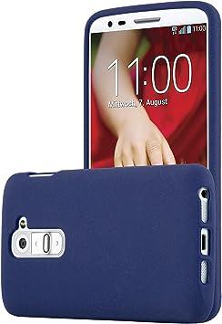 Cadorabo Funda para LG G2 Mini en Frost Azul Oscuro: Amazon.es ...