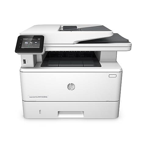 HP LaserJet Pro MFP M426fdn - Impresora láser monocromo (A4, hasta 38 ppm, 750 a 4000 páginas al mes, USB 2.0 de alta velocidad, USB host, Red Gigabit ...