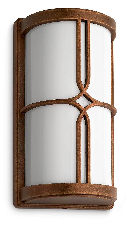 Philips Nectar Lanterne Murale Aluminium Noir et Or 1 x 20 W