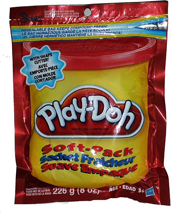 Play-Doh Soft Pack - Red by Play-Doh: Amazon.es: Juguetes y juegos