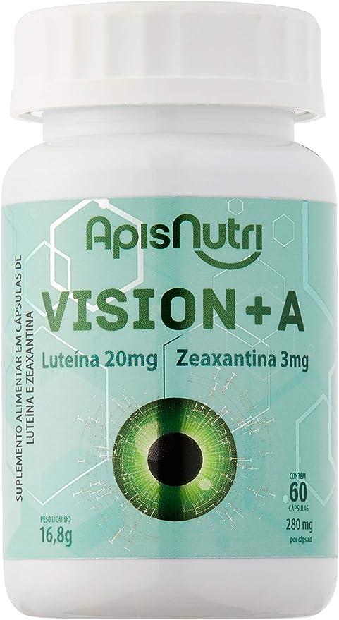Vision+A 60 Caps 280Mg - Apisnutri, Apisnutri por Apisnutri