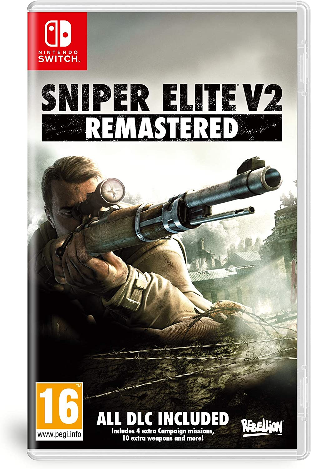 Koch Media Sniper Elite V2 Remastered, Nintendo Switch vídeo ...