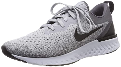 b46d8897964ac Nike Men s Odyssey React Wolf Grey Black-Dark Grey Running Shoes (UK ...