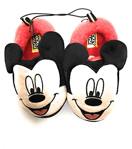 b95b00bc66f53 Mickey Mouse Disney Boys Original Slide on Slippers Minnie Mouse