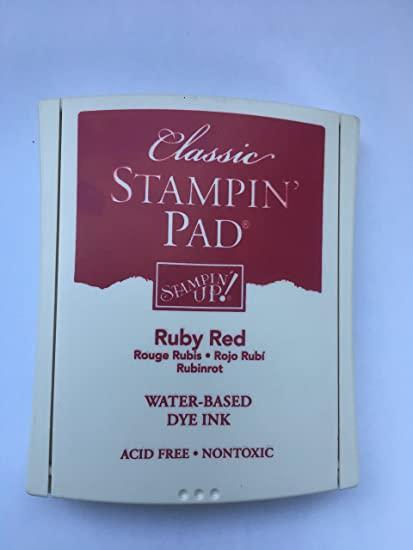 Stampin/' Up Dye Ink Classic Stampin/' Pad Ink Pad Foam Pad You Choose Color
