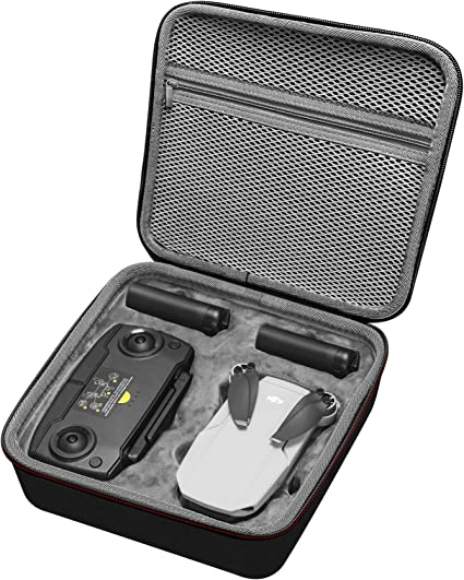 Drone and Remote Controller NOT Included MAXCAM Mini Case for DJI Mavic Mini Remote Controller Bag Drone Bag