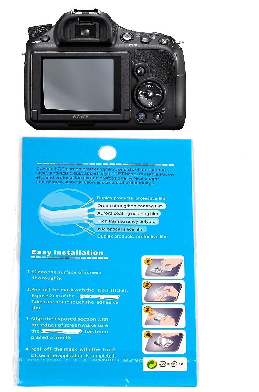 DURAGADGET Protector Pantalla LCD para La Cámara Sony SLT-A58 Anti ...