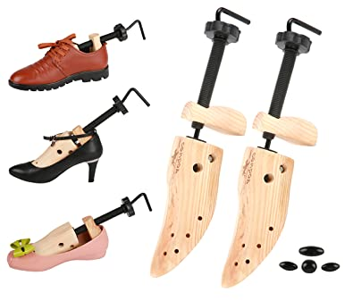 5a525d8c28a65 Two-Way Wooden Shoe Stretcher - Adjustable Russian Spruce Shoe Trees – Shoe  Stretcher with