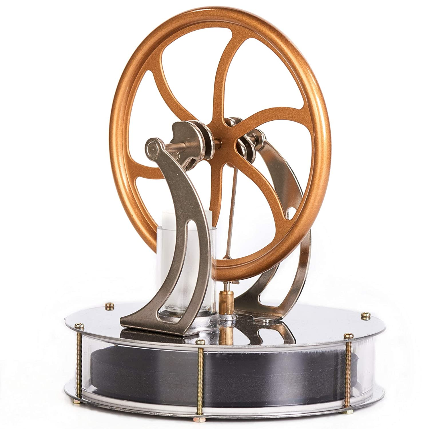 Sunnytech Low Temperature Stirling Engine Motor Steam Heat Education Model Toy Kit (LT001)