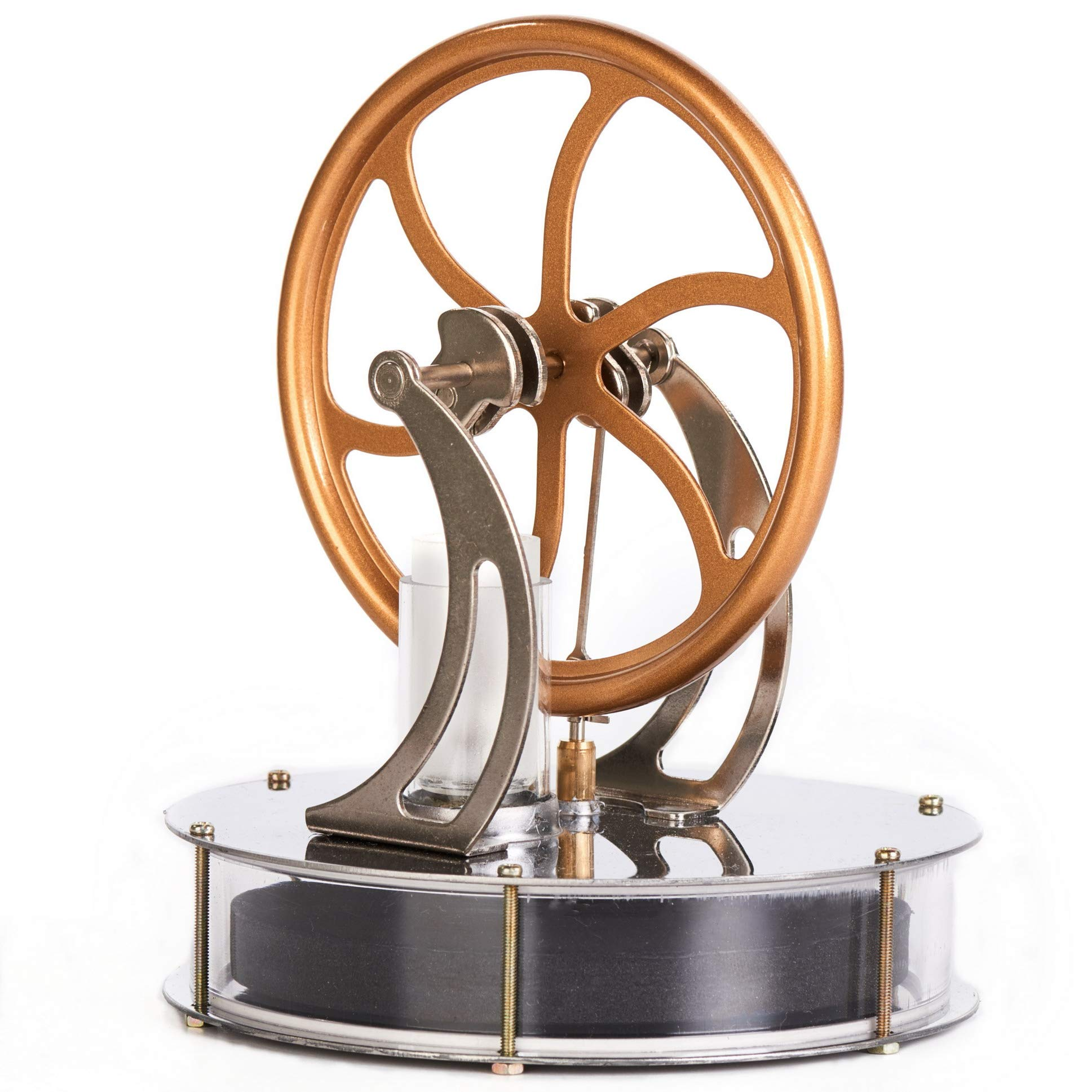 Sunnytech Low Temperature Stirling Engine Motor Steam Heat Education Model Toy Kit (LT001) by Sunnytech (Image #1)