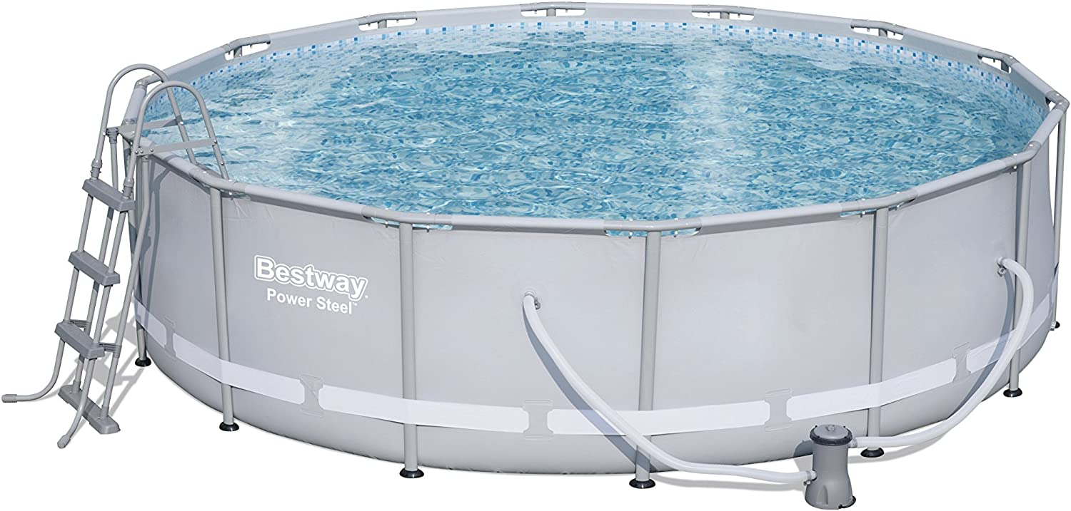 Bestway 56641 Piscina Power Steel con depuradora Cartucho, 15.232 ...