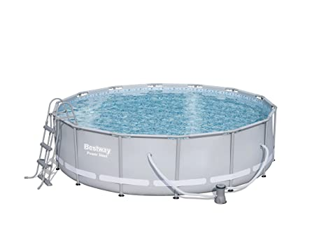 Bestway 56641 Piscina Power Steel con depuradora Cartucho 15.232 litros, M