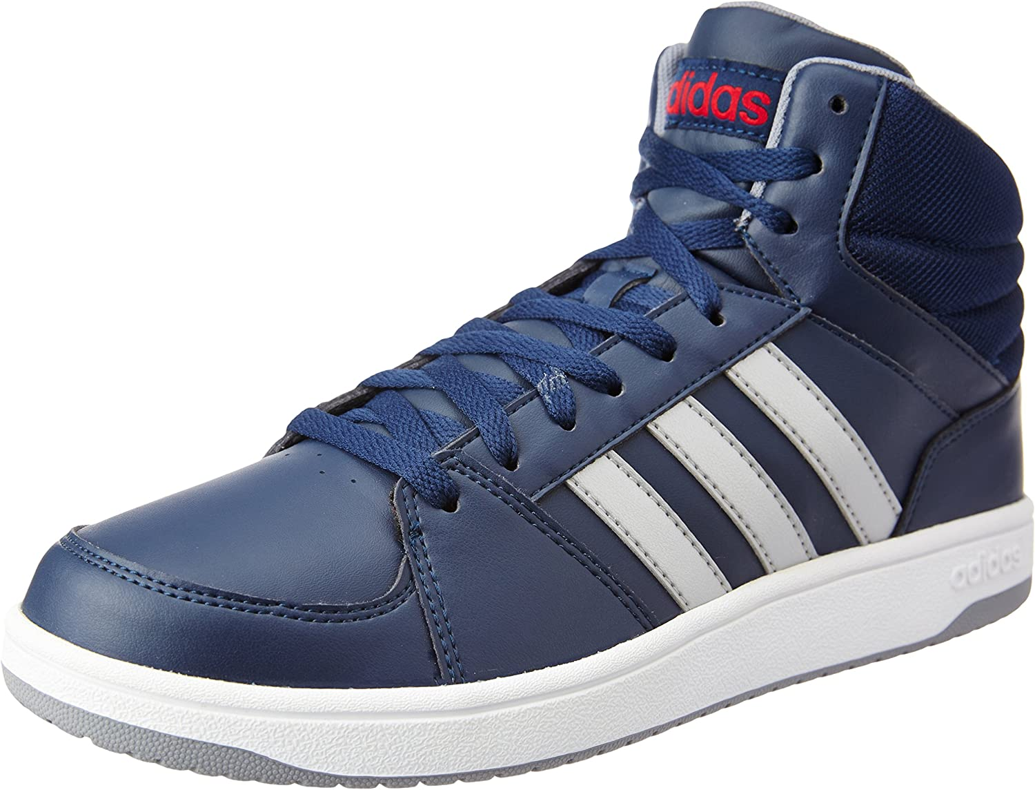 adidas Hoops VS MID - Trainers for Men, 40 2/3, Blue: Amazon.co.uk ...
