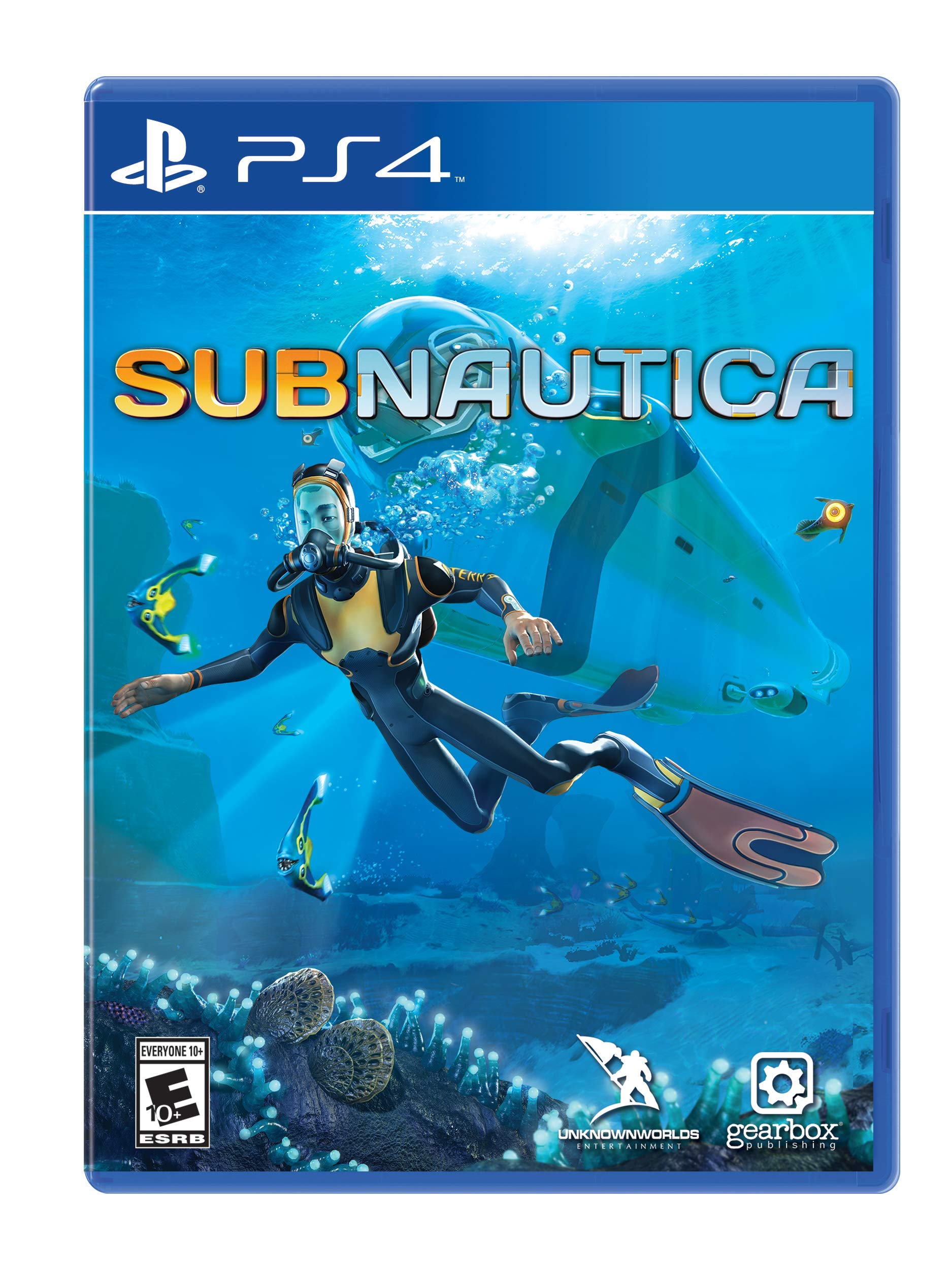 Subnautica - PlayStation 4 (Tapa Blanda)