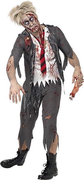 SmiffyS 32928L Disfraz De Colegial Zombi High School Horror Con ...