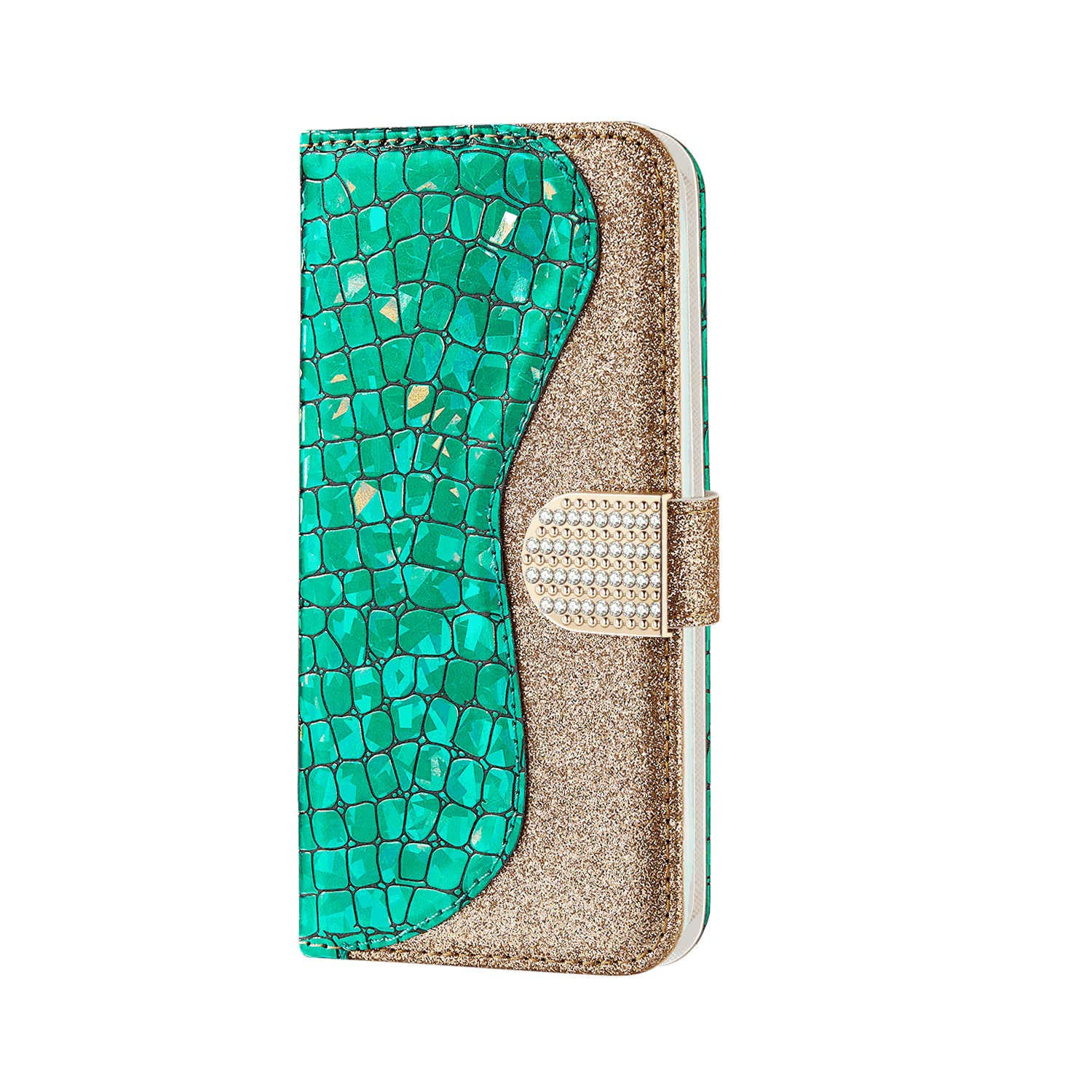 Elegant White Wallet Case for Samsung Galaxy S20 Plus PU Leather Flip Cover Compatible with Samsung Galaxy S20 Plus