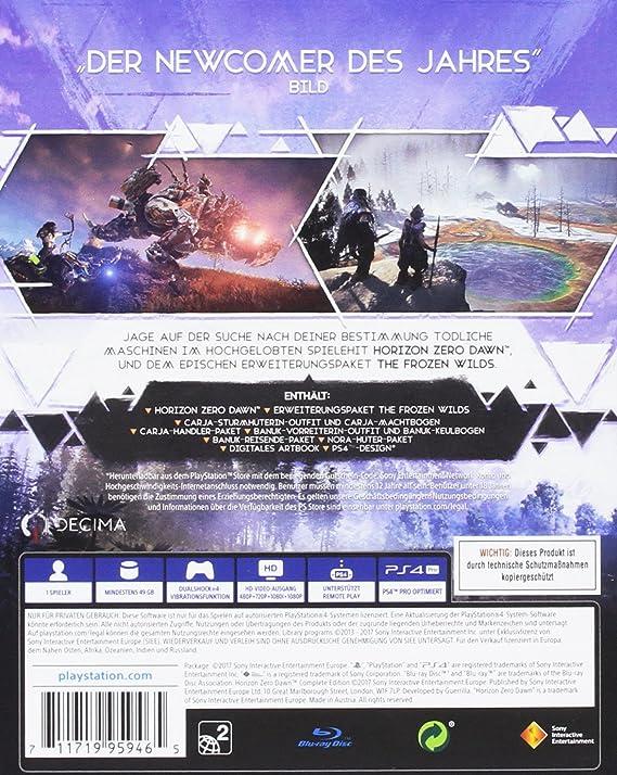 Horizon: Zero Dawn - Complete Edition - PlayStation 4 [Importación ...