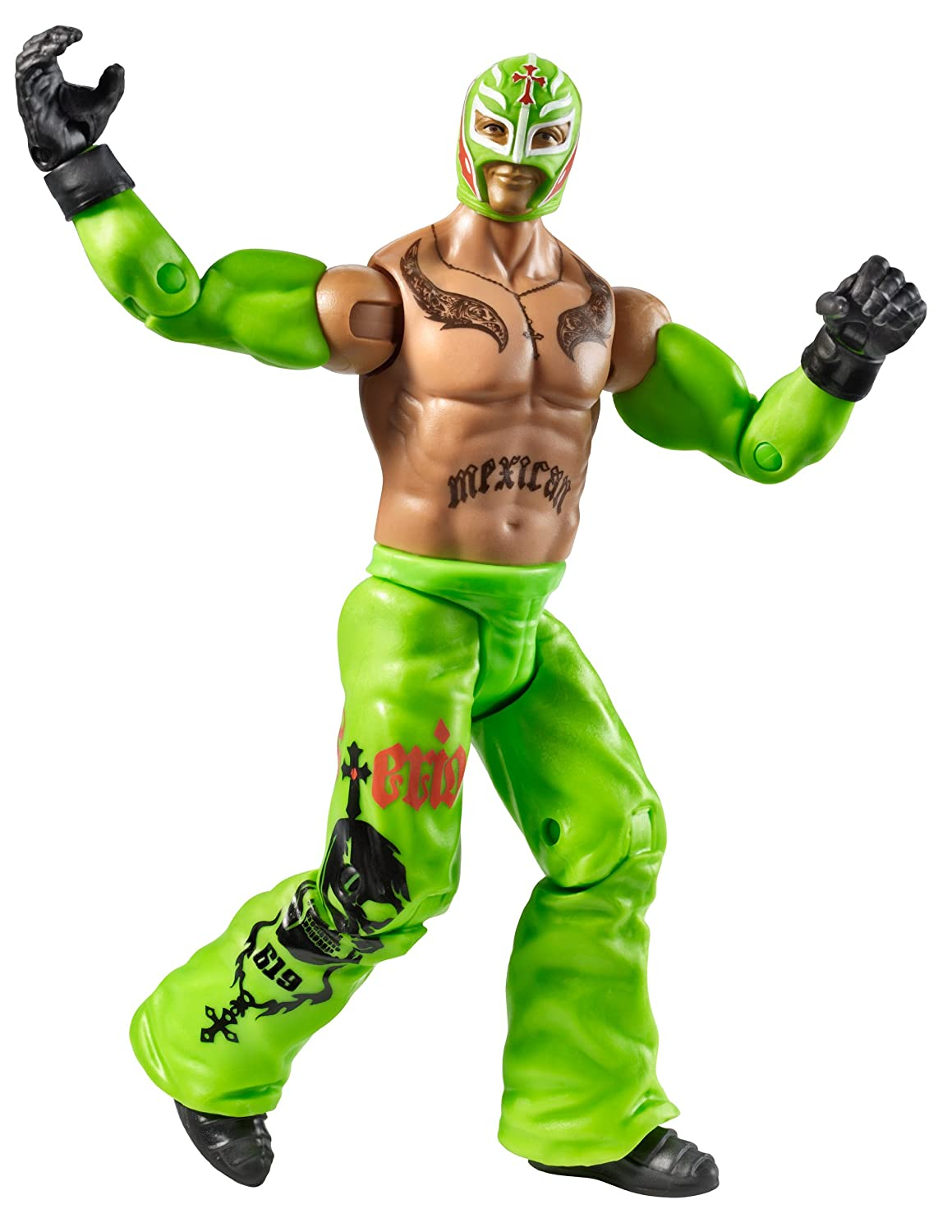 amazon com wwe series 23 rey mysterio figure toys u0026 games