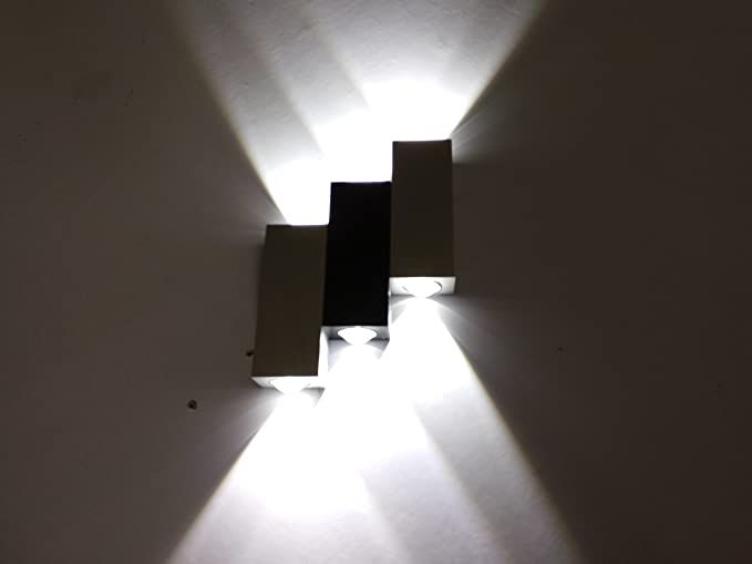 Hlt applique da parete interni lampada a muro applique led moderne