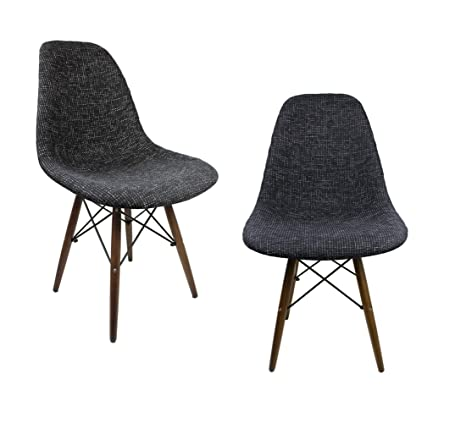 Enjoyable Amazon Com Mid Century Modern Woven Fabric Upholstered Caraccident5 Cool Chair Designs And Ideas Caraccident5Info