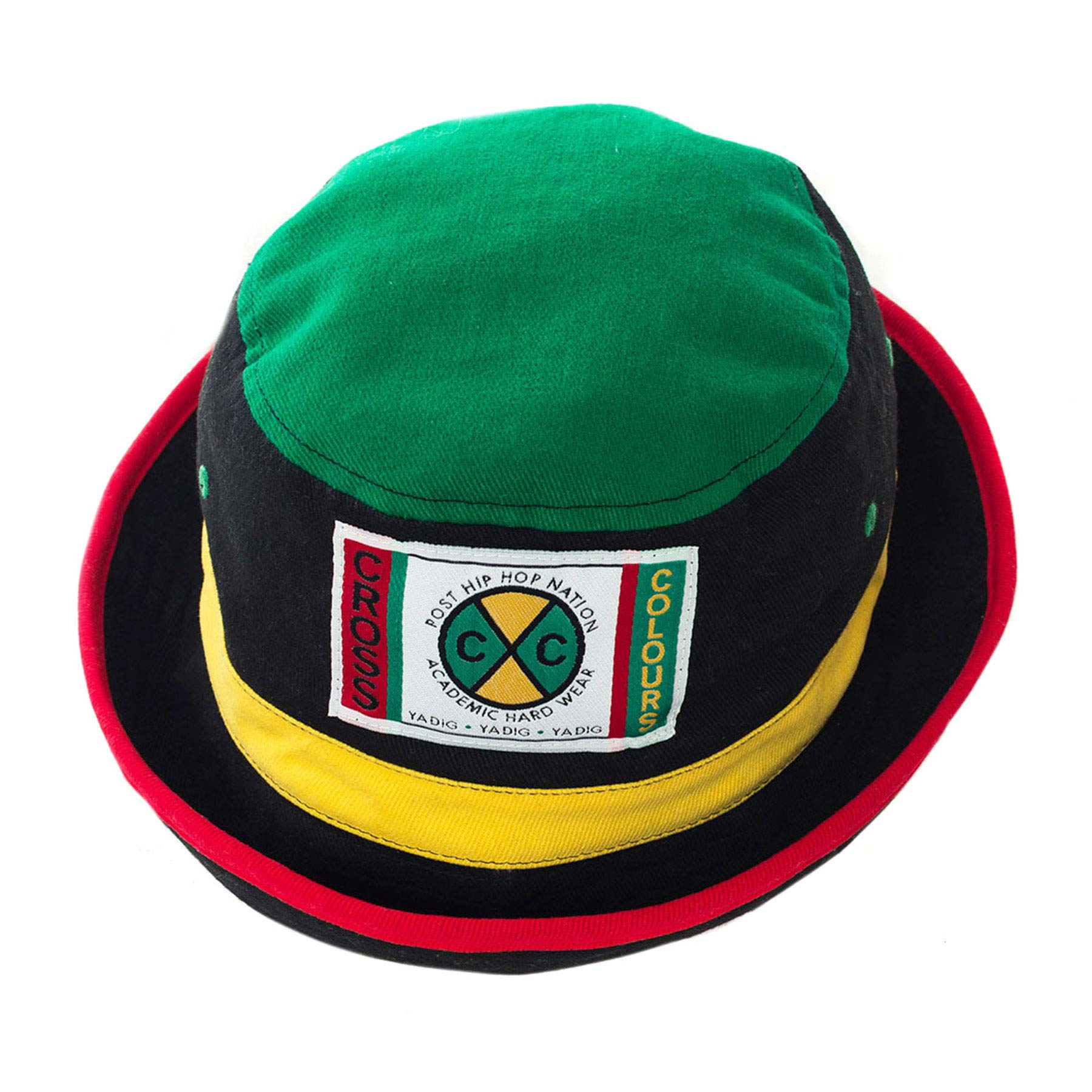 CROSS COLOURS Color Block Bucket Hat (One Size, Multi)