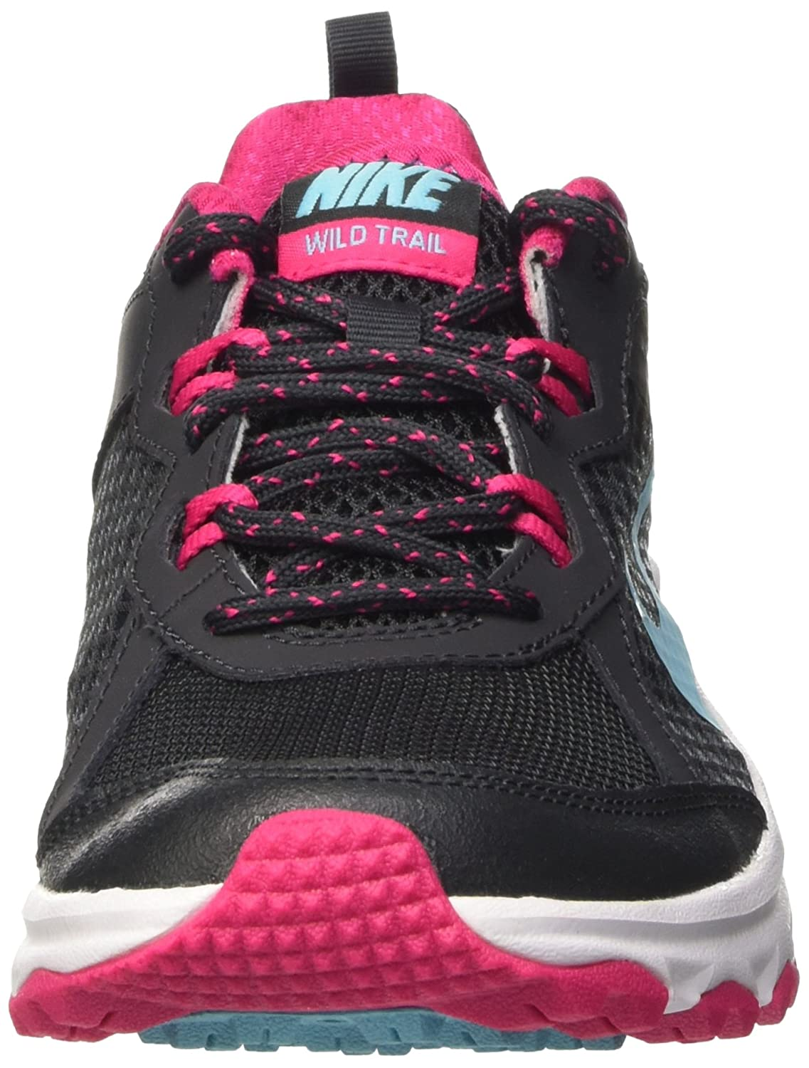 Fall/Winter Nike Wild Trail 643074-001 Anthracite / Polarized Blue-Vivid Pink-White   Nike   Womens   2014